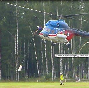 Rusya, Dünya Helikopter Sporları Şampiyonası'na ev sahipliği yaptı