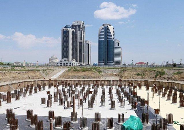 Avrupa'nın en büyük gökdeleni Grozni'de inşa ediliyor