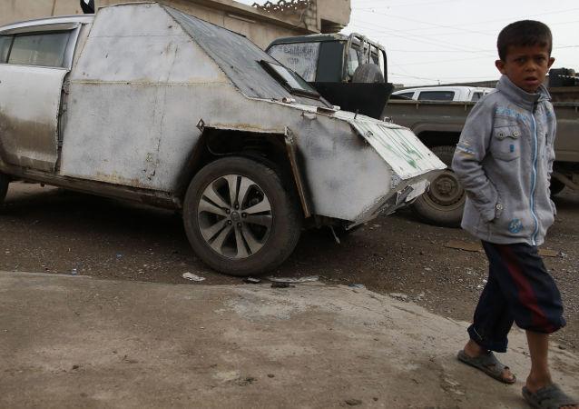 IŞİD. araba