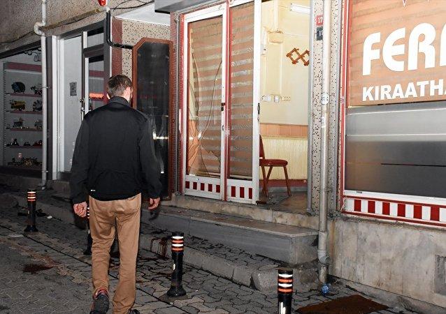 Ümraniye'de kahvehaneye silahlı saldırı