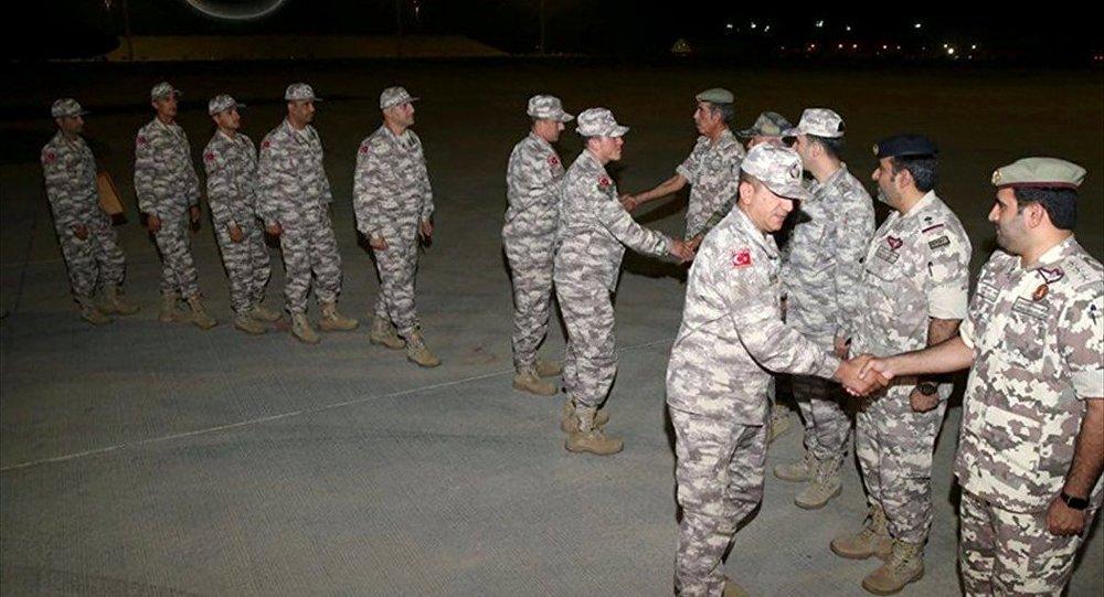 Katar'daki Türk askeri