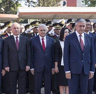 Başbakan Yıldırım Kuzey Kıbrıs'ta