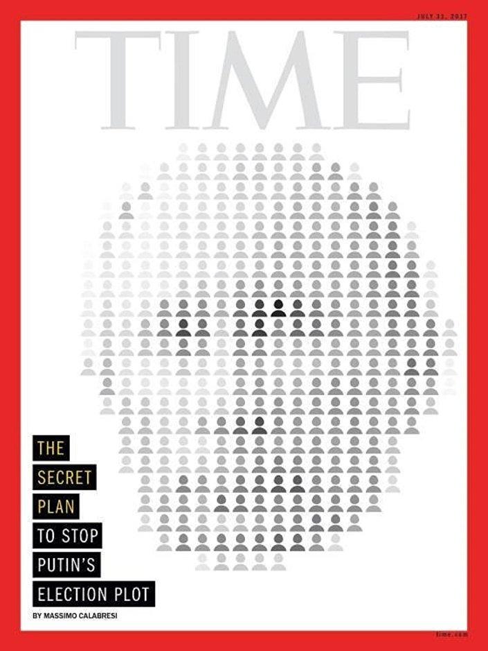 Time dergisinden Putin kapağı