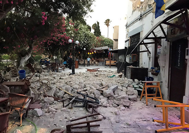 Ege'de deprem Kos
