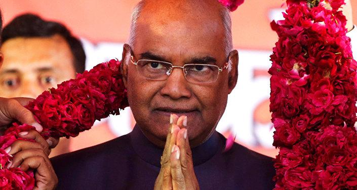 Hindistan'ın yeni cumhurbaşkanı Ram Nath Kovind 2017