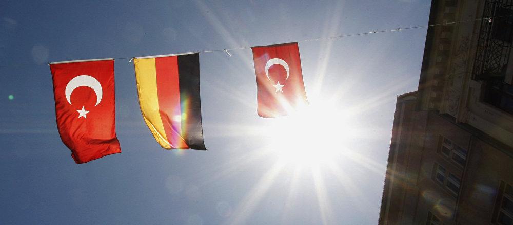Almanya-Türkiye Bayrağı