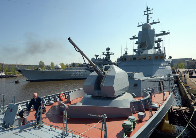 Corvette Boiky of Russia's Baltic Fleet