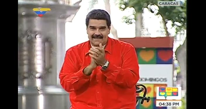 Venezüella Devlet Başkanı Maudro muhaliflere Despacito ile seslendi