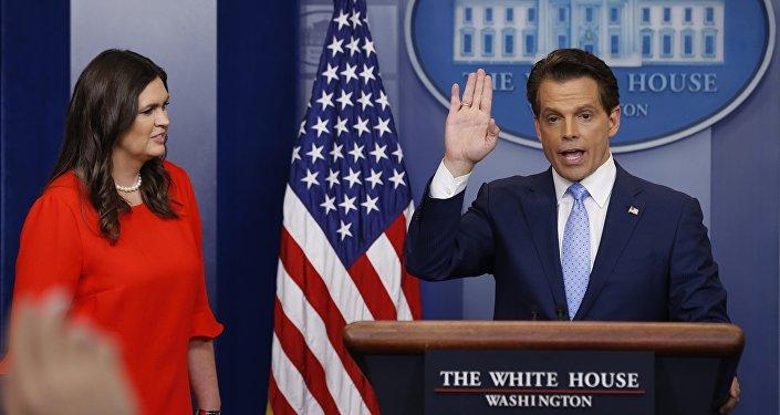 Beyaz Saray'ın yeni iletişim direktörü Anthony Scaramucci