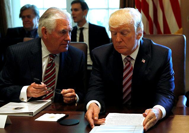 Donald Trump - Rex Tillerson