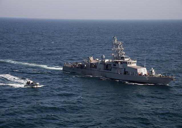 Arap körfezinde ABD donanmasına ait devriye gemisi