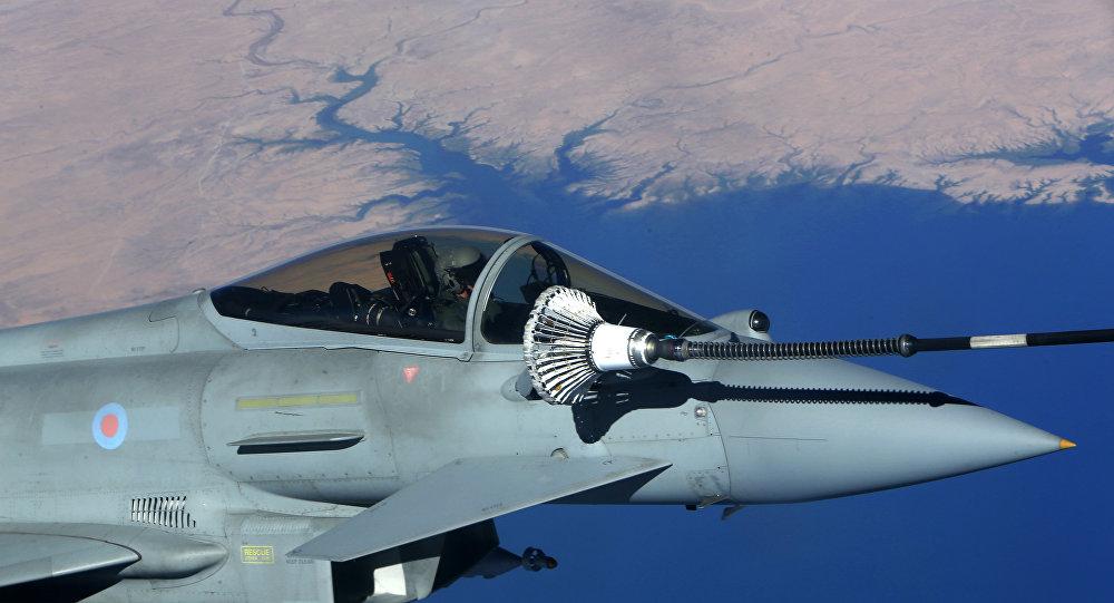 İngiltere Hava Kuvvetleri / Typhoon jeti