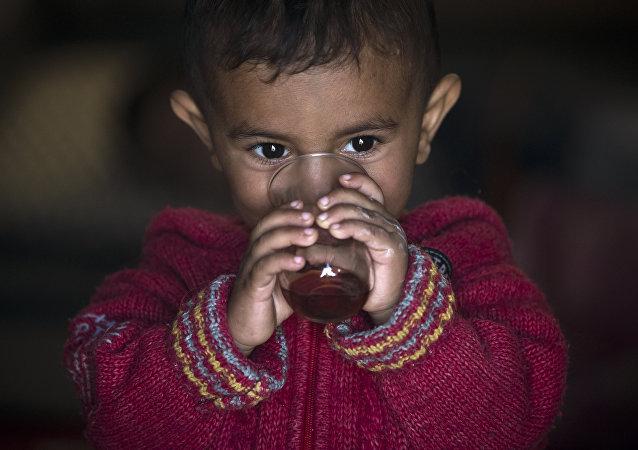 Suriyeli sığınmacı çocuk