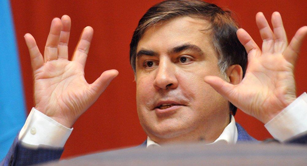 Ukrayna'nın vatandaşlıktan çıkardığı Saakaşvili: Onu benden alamayacaklar, sığınmacı olmayacağım