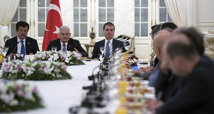Başbakan Yıldırım, Alman yatırımcılarla buluştu