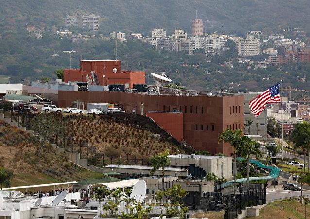 Venezüella'nın başkenti Caracas'taki ABD Büyükelçiliği