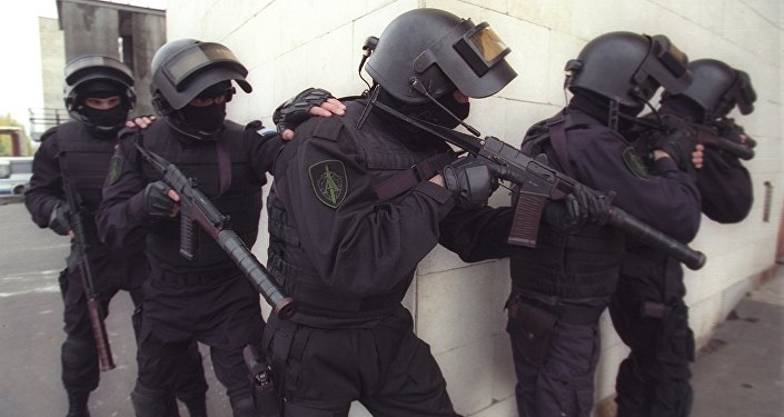 Counter-terrorism task-force of the Russian Federal Security Service (FSB) Alpha Group