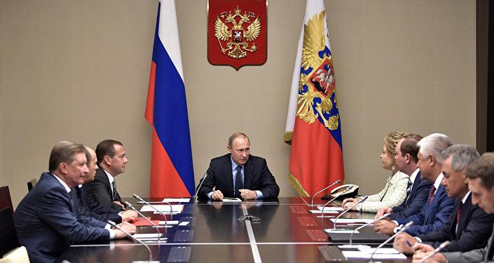 Rusya Devlet Başkanı Vladimir Putin, Rusya Güvenlik Konseyi'ni topladı
