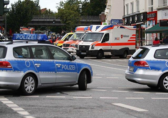 Hamburg saldırı - Alman polisi
