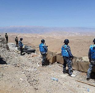 Suriye askerleri- Kalamun