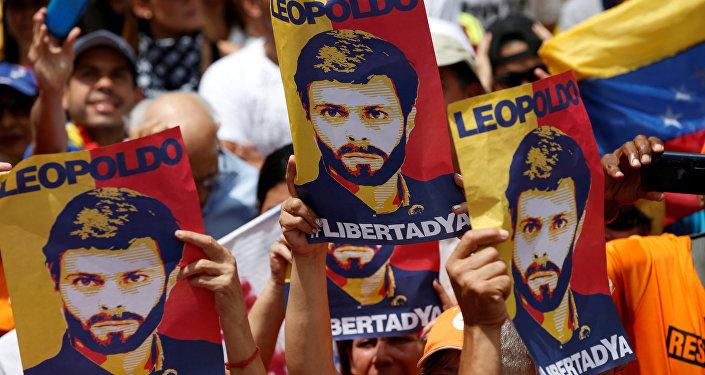 Venezüellalı muhalif lider Leopoldo Lopez