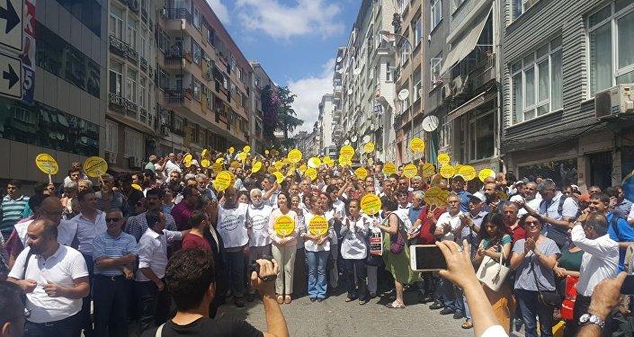 HDP, Vicdan ve Adalet Nöbeti, Kadıköy
