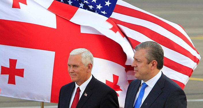 ABD Başkan Yardımcısı Mike Pence- Gürcistan
