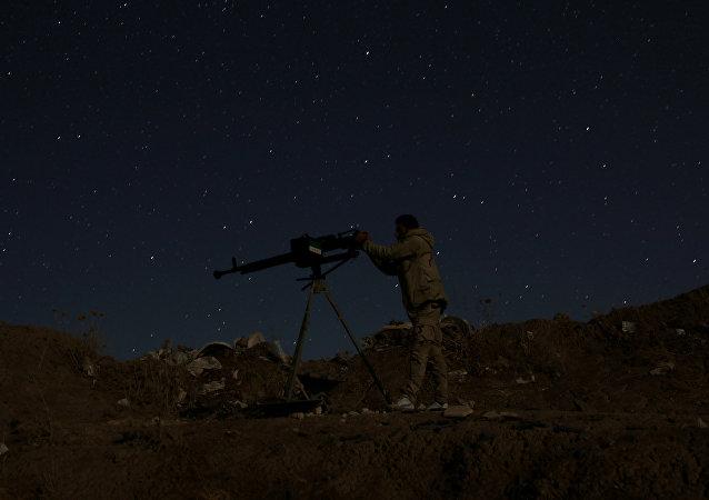 Suriye - Dera'ya bağlı Da'el (Dail) / Özgür Suriye Ordusu (ÖSO)