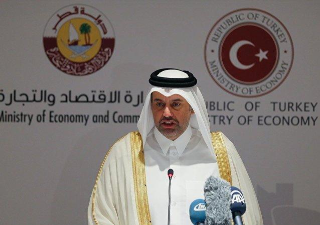 Katar Ticaret ve Ekonomi Bakanı Ahmed bin Casim el Sani