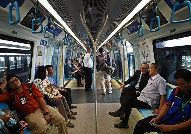 Kuala Lumpur- MRT toplu taşıma sistemi