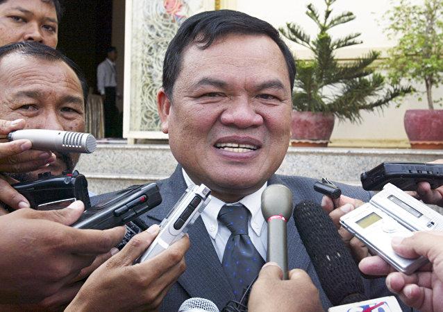 Kamboçya'nın eski Başbakan Yardımcısı Nhek Bun Chhay