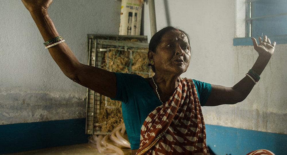 Hintli bir kadın