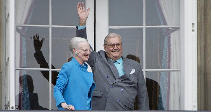 Danimarka Kraliçesi Margrethe- Eşi Danimarka Prensi Henrik