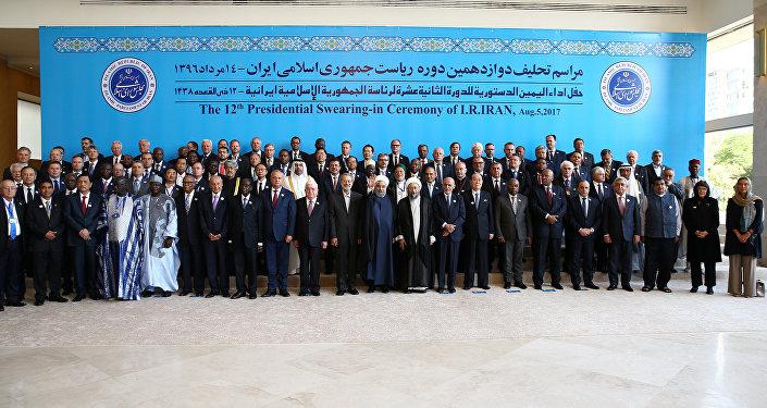 İran Cumhurbaşkanı Hasan Ruhani- Yemin töreni