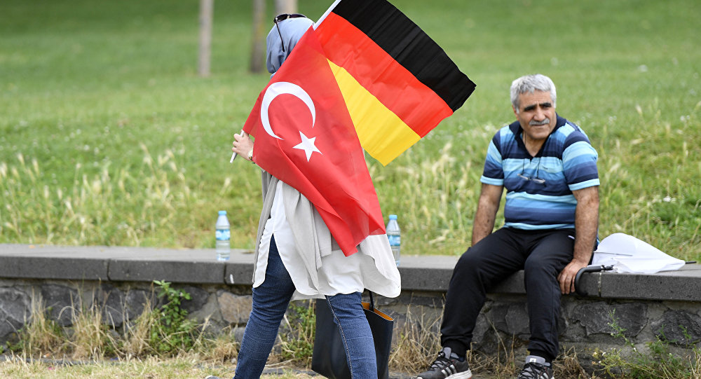 Almanya- Türkiye- Bayrak