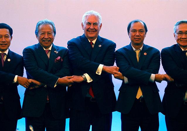 ABD Dışişleri Bakanı Rex Tillerson- ASEAN