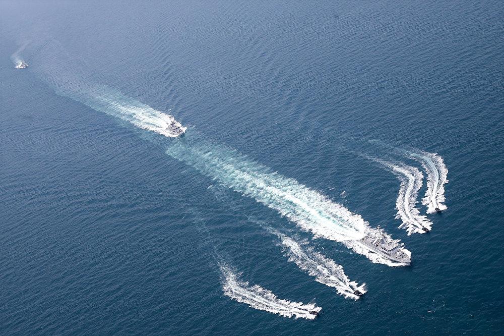 Türkiye ile Katar arasındaki deniz tatbikatı