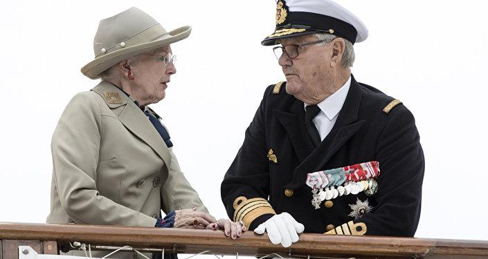 Danimarka Kraliçesi Margrethe- Prens Henrik