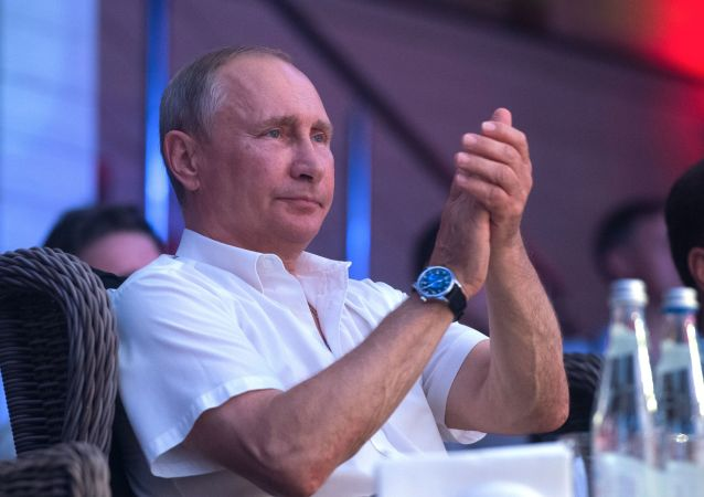 Putin Soçi'de