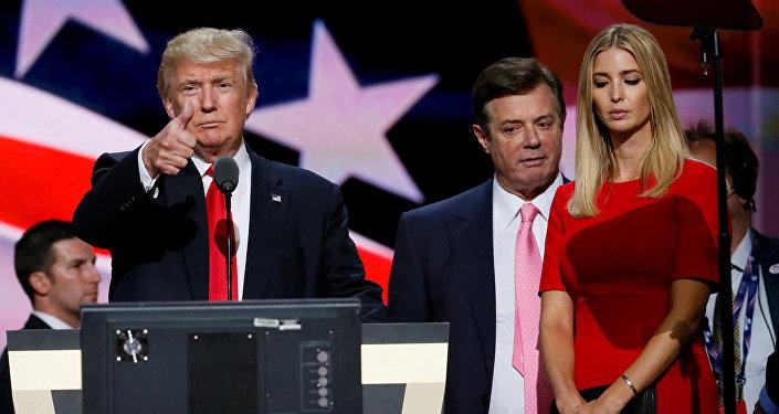 ABD Başkanı Donald Trump, seçim kampanyası müdürü Paul Manafort