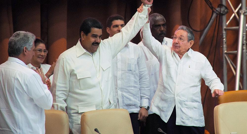 Raul Castro- Nicolas Maduro