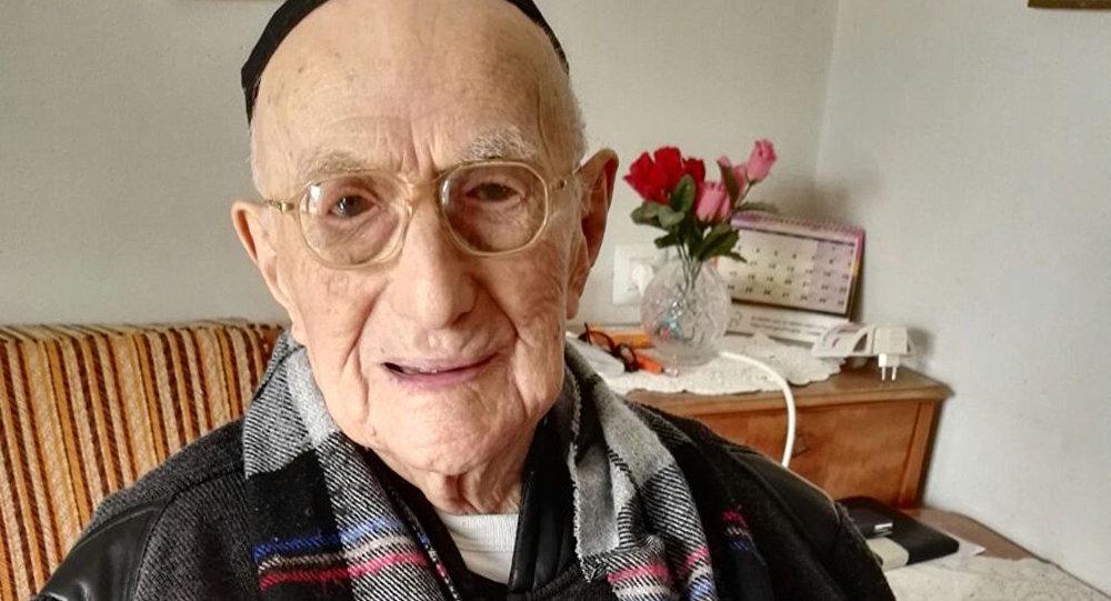 Dünyanın en yaşlı erkeği İsrail Kristal