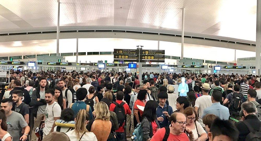 Barselona Havalimanı Grev