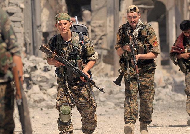 Demokratik Suriye Güçleri, Rakka
