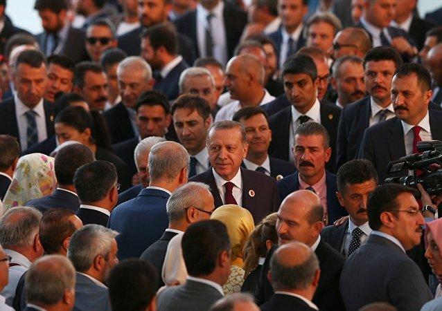 AK Parti'nin kuruluşunun 16. yıl dönümü etkinlikleri