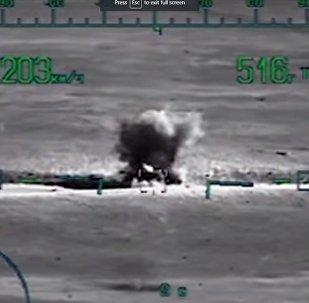 Rusya Savunma Bakanlığı, Suriye'deki çıkarma operasyonunun videosunu yayınladı
