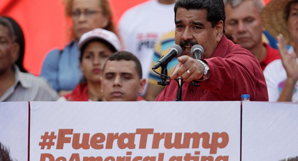 Maduro miting