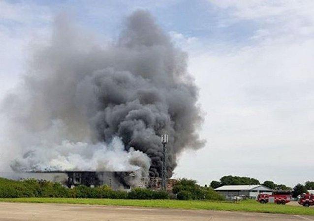 Londra'da Southend Havalimanı yakınlarında patlama