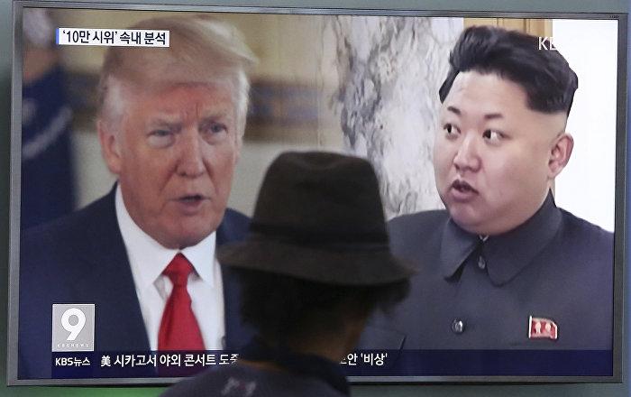 Trump: Kuzey Kore'ye karşı nükleer silah kullanmaya hazırız