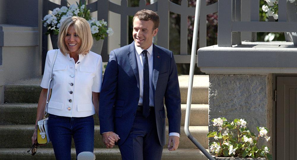 Brigitte Macron Elle dergisine konuştu
